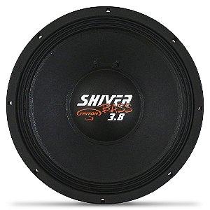Woofer 15 Polegadas Triton 1900w Rms Shiver Bass 3.8 4 Ohms Bobina Simples Sub Grave 3800w Pico Peça