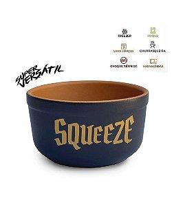 Tigela em cerâmica - Squeeze (Preta)