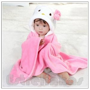 Cobertor c/ Capuz - Hello Kit