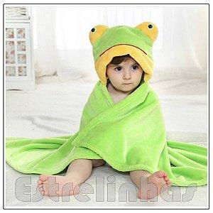 Cobertor c/ Capuz - Sapinho