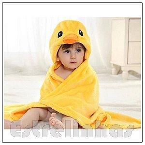 Cobertor c/ Capuz - Patinho