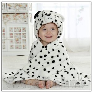 Cobertor c/ Capuz - Dalmata