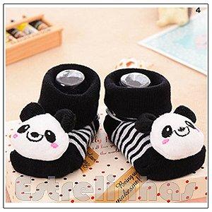 Meias Animadas - Panda