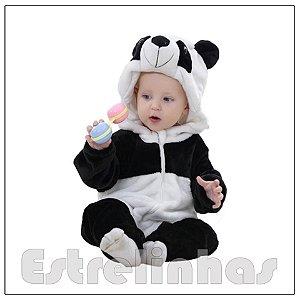 Macacão Bichinhos - Panda