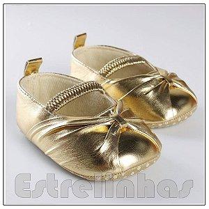 Sapatinho Dourado
