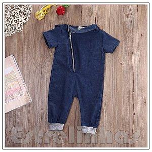 Macacão Jeans Fashion