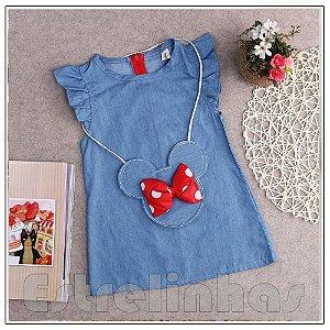 Vestido Minnie Jeans