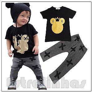 Conjunto Rei Mickey