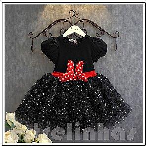Vestido Festa da Minnie