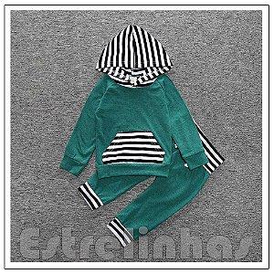 Conjunto Zebrinha Verde