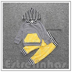 Conjunto Zebrinha Amarelo
