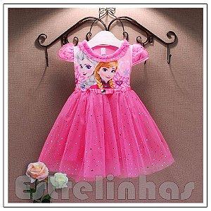 Vestido Princesas Frozen