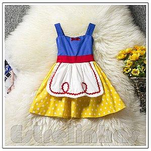 Vestido Daminha de Neve