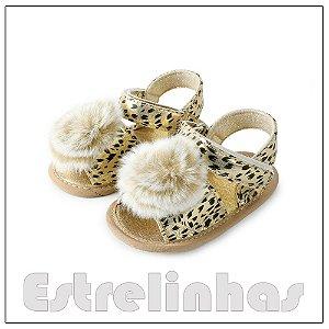 Sandália Leopardo