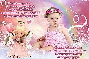 Convite digital personalizado Anjos 014