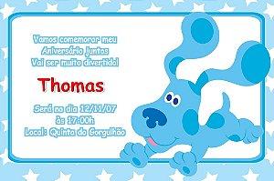 Convite digital personalizado As Pistas da Blue 004
