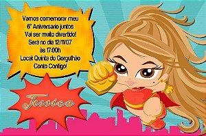 Convite digital personalizado Baby Bratz 001