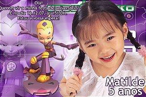 Convite digital personalizado Code Lyoko 004