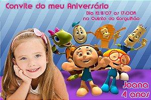 Convite digital personalizado Crianças Diante do Trono 002
