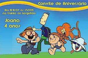Convite digital personalizado Crianças Diante do Trono 004