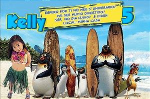 Convite digital personalizado Tá Dando Onda 001