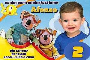 Convite digital personalizado Os Irmãos Koala 001