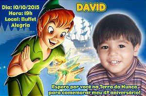Convite digital personalizado Peter Pan 002