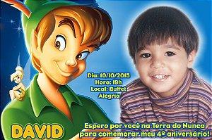 Convite digital personalizado Peter Pan 004