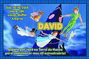 Convite digital personalizado Peter Pan 006