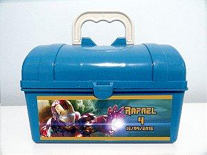 Maletinha Baú personalizada Vingadores