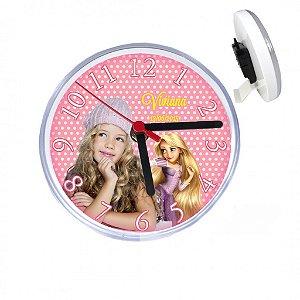 Relógio Personalizado de Mesa com lente protetora