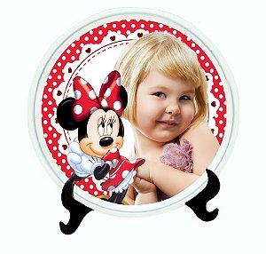Pratinho personalizado Minnie