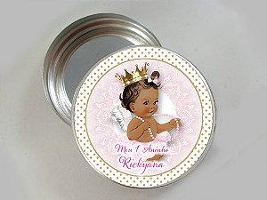 Latinha de aluminio personalizada Anjinha Princesa