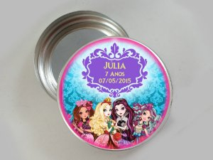 Latinha de alumínio personalizada Ever After High