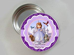 Latinha de alumínio personalizada Princesa Sofia