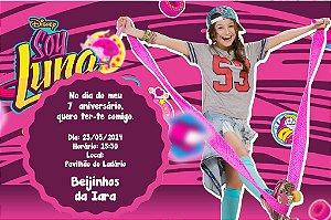 Convite digital personalizado Soy Luna 004