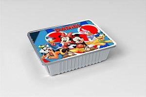 Marmitinha personalizada Turma do Mickey Mouse