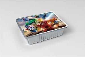 Marmitinha personalizada Lego Vingadores