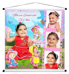 Banner personalizado 1 m x 1 m Bonecas 001