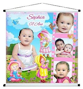 Banner personalizado 1 m x 1 m Bonecas 002
