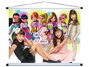 Banner personalizado 1,20 m x 0,90 m Winx 001