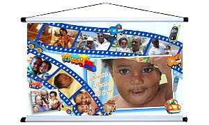 Banner personalizado 2 m x 1,20 m Brinquedos 001