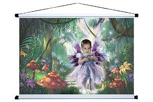 Banner personalizado 1,50 m x 1m Fada 001