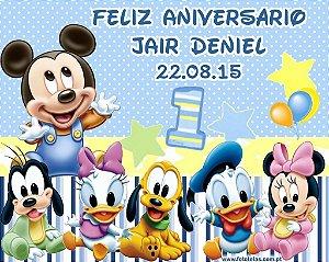 Painel personalizado 1,50 m x 1.20 m Baby Disney  004