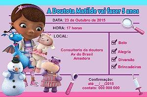Convite digital personalizado Doutora Brinquedos 008