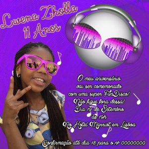 Convite digital personalizado Musica 002
