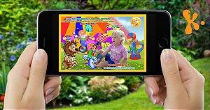 Convite digital personalizado Circo 016