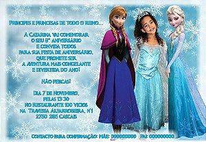 Convite digital personalizado Frozen 012