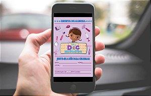Convite digital personalizado Doutora Brinquedos 010