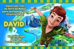 Convite digital personalizado Peter Pan 009